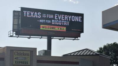 """""""Texas es para todos"""", un nuevo anuncio busca rechazar la intolerancia en el estado"""