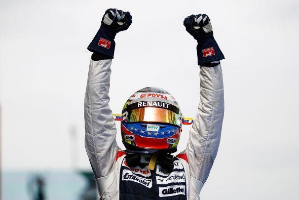 Para Pastor, este fue su primer triunfo desde que debutó en la Fórmula 1.