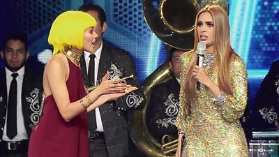 Leslie retó a Gali rapeando y defendiendo el club de fans de Manuel