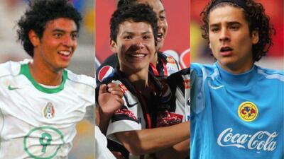Niños del 'Tri': la cara juvenil y la actual de los jugadores de la selección de México