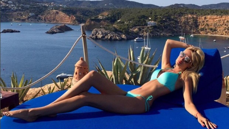 La bella presentadora rusa, quien es la embajadora oficial del Mundial d...