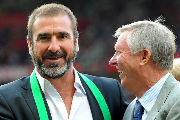 Eric Cantona: El polémico 'Rey Eric', una de loas máximas glorias del Un...