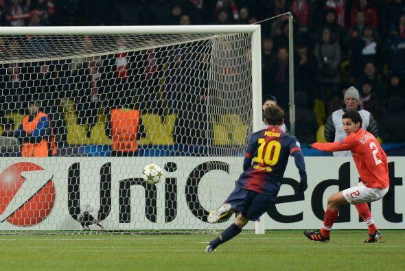 'la Pulga' se unió a la lista de goleadores apenas al minuto 27.