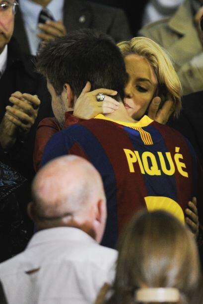 Shakira es la única WAG que es  igual o más famosa que su pareja, el jug...