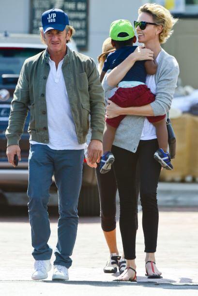 Desde un principio, Sean se ganó al hijo de la actriz.