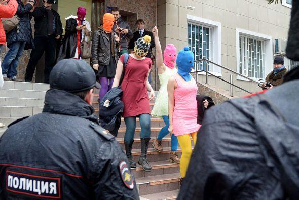 El abogado del grupo dijo a la AP que la policía se negaba a reve...