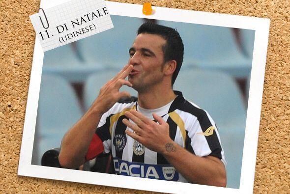 Otro jugadorazo que marcpo un 'hat-trick' fue el italiano Antonio Di Nat...