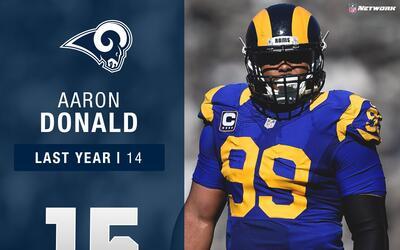 #15: Aaron Donald (DT, Rams) | Top 100 Jugadores 2017
