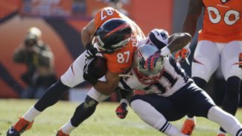 La ausencia de Aqib Talib ante Broncos por lesión fue un golpe brutal pa...