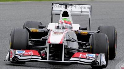 Sergio Pérez terminó su primer año en la F1 en 15vo lugar.