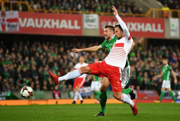 En fotos: Suiza venció 0-1 de visita a Irlanda del Norte y pone un pie e...