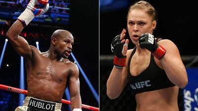 Mayweather y Ronda.