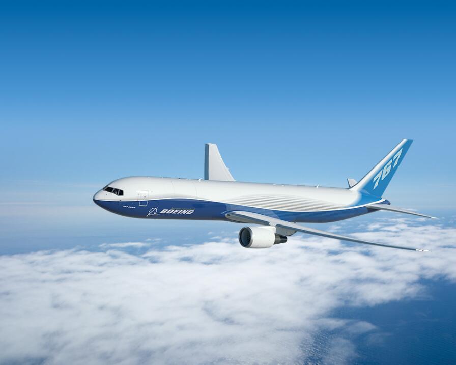 El Boeing 767 (el de la imagen, base del 767-277) puede a una altitud de...