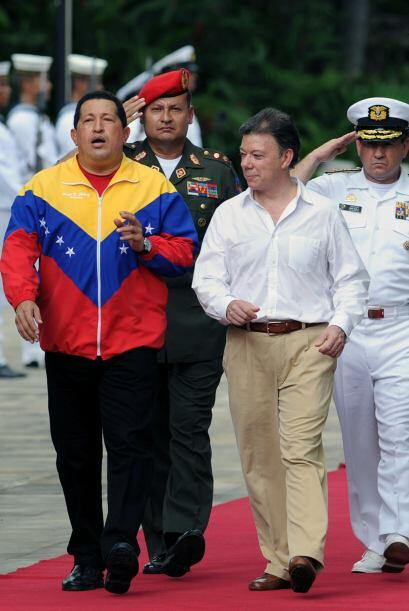 """El líder venezolano dijo que llegó a Colombia para """"reconstruir lo desmo..."""