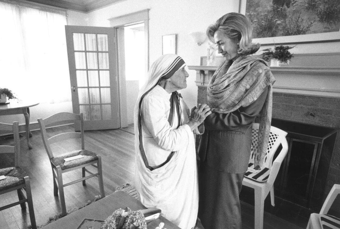 Madre Teresa de Calcuta Hillary