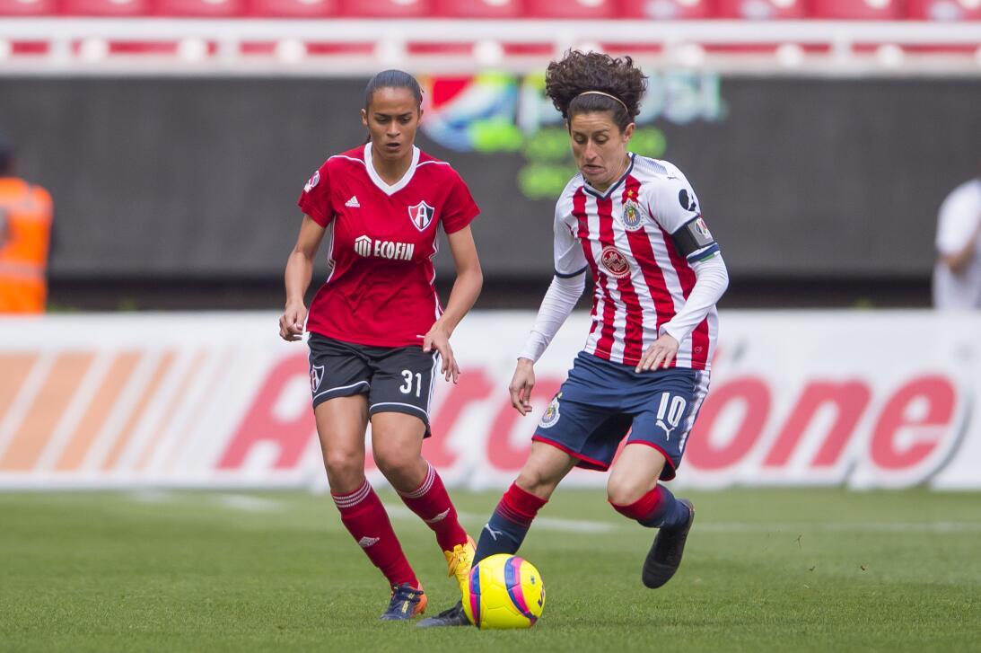 En Fotos: Chivas se lleva el 'Clásico Tapatío' en la Liga MX Femenil gol...