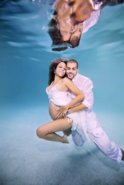 Estas sesiones bajo el agua, te transmitirán la magia del embarazo.