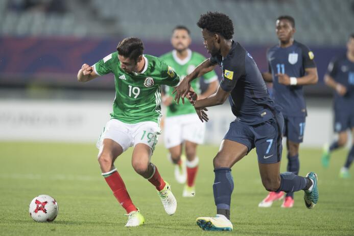 México le dijo adiós al Mundial Sub-20 con una amarga derrota ante Ingla...