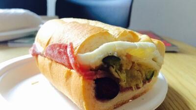 Pirlo Sandwich