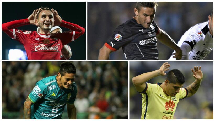 Germán Cano y Gonzalo Bergessio, entre los jugadores más r...