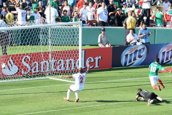 El gol al final del primer tiempo ilusionaba con un mejor accionar azteca.