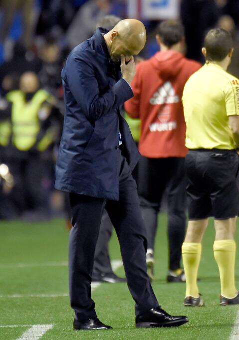 Los dirigidos por Zinedine Zidane no pudieron sostener la ventaja y deja...