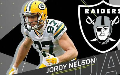 Jordy Nelson se une a la Raiders Nation y la ofensiva aérea de De...