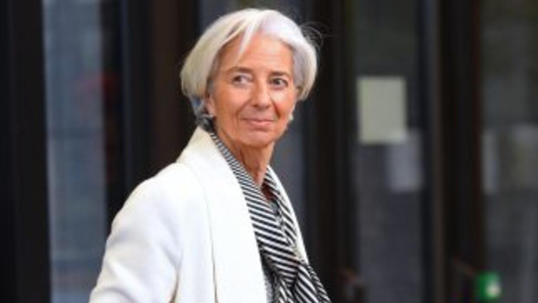 Christine Lagarde, directora gerente del Fondo Monetario Internacional.