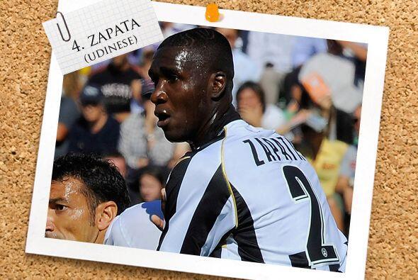 El colombiano Christian Zapata está en gran momento con el Udinese y mar...