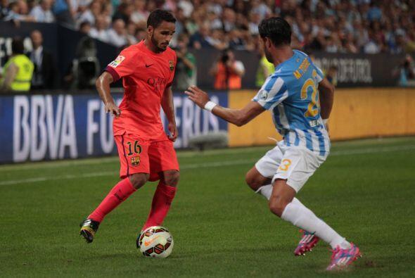 Douglas Pereira llegó al Barcelona el pasado verano proveniente del Sao...