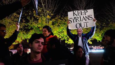 Algunos no aceptan a los refugiados sirios