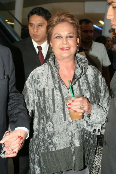 La actriz y conductora Talina Fernandez tuvo como hija a la actriz Maria...