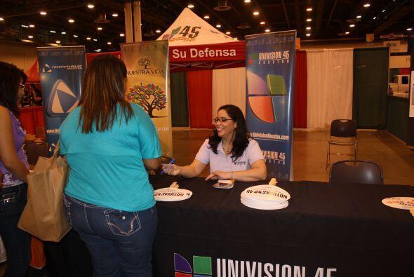 Grace Olivares, directora y presentadora del programa Nuestra Vida estuv...