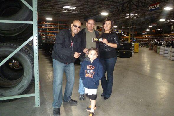 Este fin de semana El Paso tuvo una visita familiar; El Primo estuvo en...