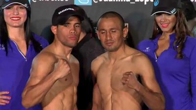 Juan Manuel López y Orlando Salido en peso
