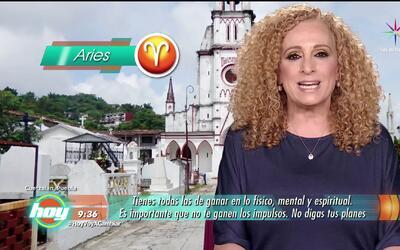 Mizada Aries 21 de agosto de 2017