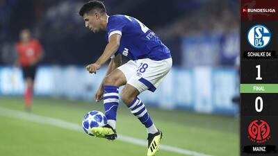 Schalke 04 logra primera victoria de la temporada ante el Mainz 05