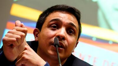 """""""Fernando Albán fue asesinado por el Estado venezolano"""": Lorent Saleh"""