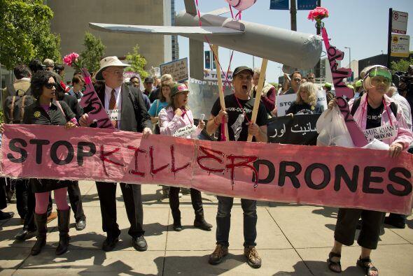 Y el fin a los ataques con aviones no tripulados.