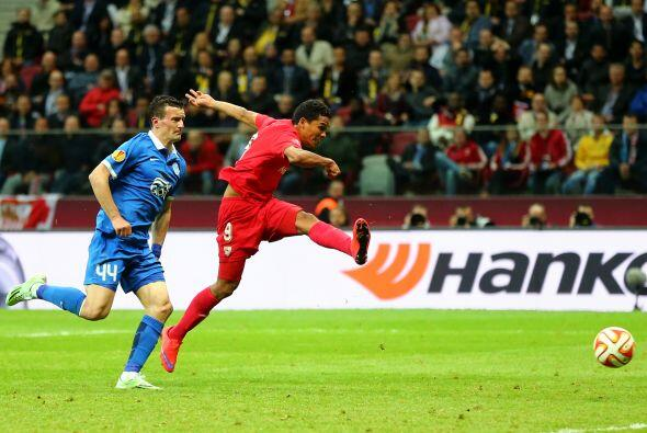 Hasta que llegó nuevamene el colombiano Carlos Bacca para marcar su segu...
