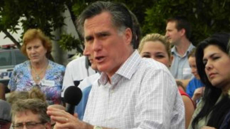 Romney dijo que eliminaría el plan de cuidado médico de Obama.