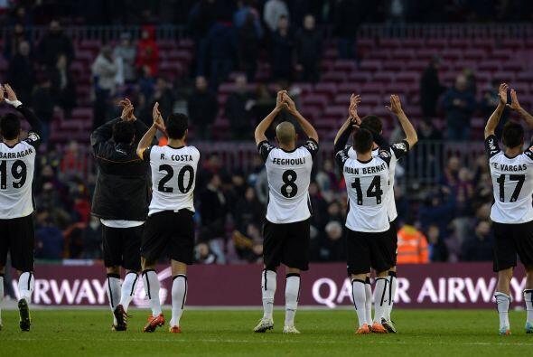 Se fueron los minutos y los tres puntos del Barcelona. Valencia se llevó...