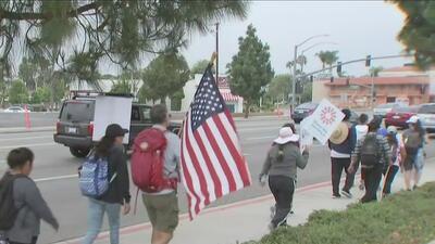 Realizan peregrinación para pedir que niños inmigrantes no sean separados de sus familias