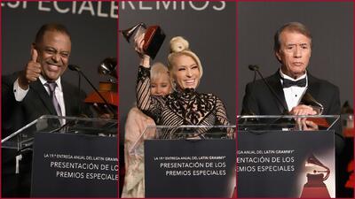 Leyendas en foto: así fue la entrega del premio a la Excelencia Musical del Latin GRAMMY 2018