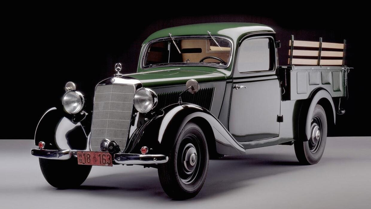 Dodge recibió tres premios J.D. Power Mercedes-Benz-170-V-W136-1946-49_2...