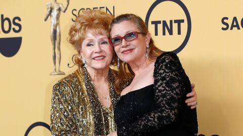 Madre e hija, Debbie Reynolds y Carrie Fisher, tenían una relaci&...