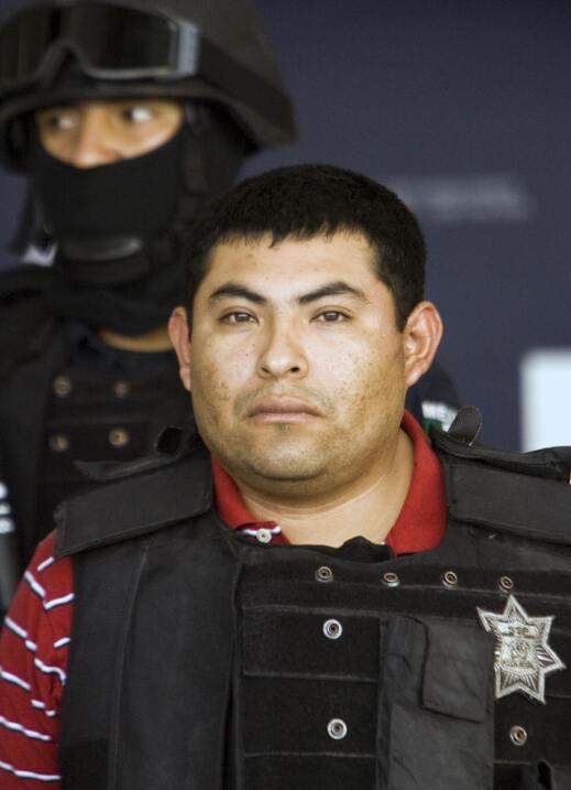 Jaime González Durán, de Los Zetas.