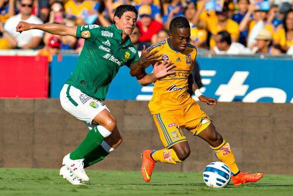 Darío Burbano salió campeón con el León para después emigrar a los Tigre...