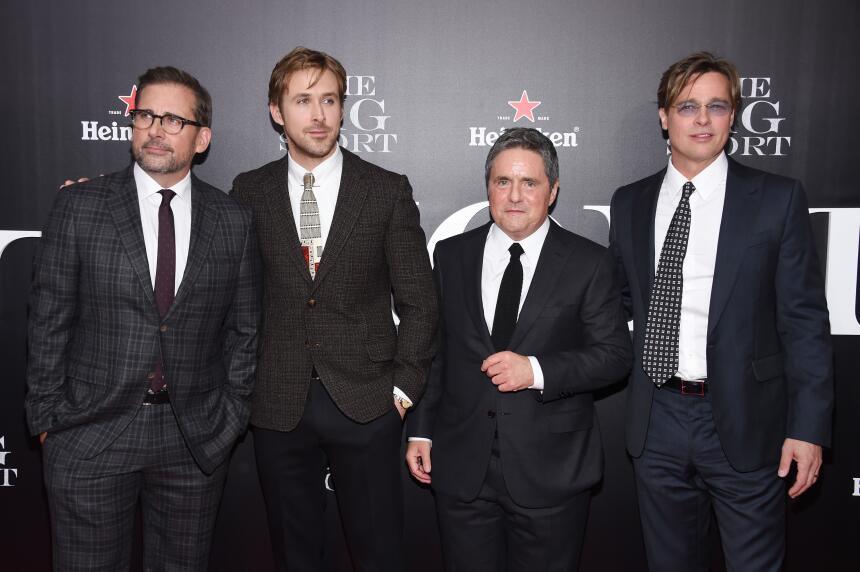 Los actores conquistaron a todos durante el estreno de su película 'The...