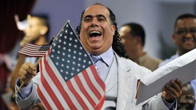 Ceremonia de ciudadanía de Estados Unidos